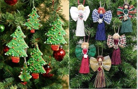 Новогоднее украшения и игрушки своими руками